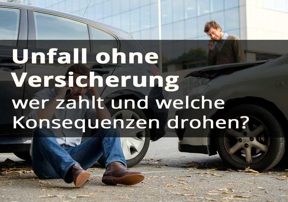 Unfall ohne Versicherung Titelbild