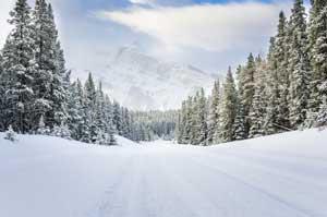 Autofahren im Winter in Kanada